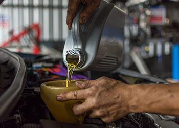 oil and fluids